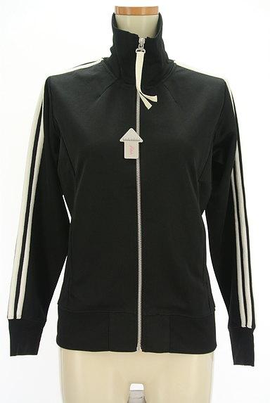 adidas(アディダス)の古着「ライン入りロゴトラックジャケット(ジャージトップス)」大画像4へ