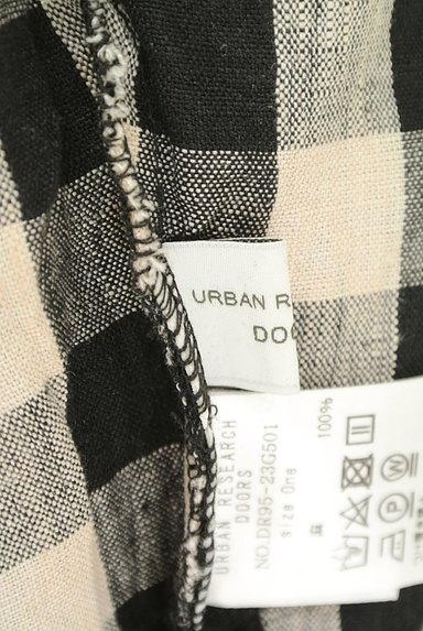 URBAN RESEARCH DOORS(アーバンリサーチドアーズ)の古着「チェック柄リネンカットソー(カットソー・プルオーバー)」大画像6へ
