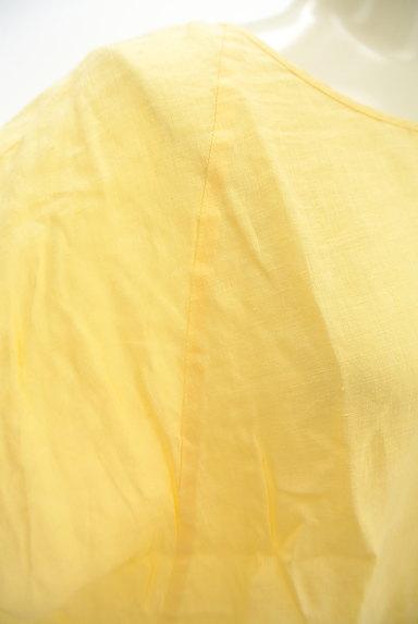ROSSO(ロッソ)の古着「ドルマン五分袖リネンカットソー(カットソー・プルオーバー)」大画像4へ