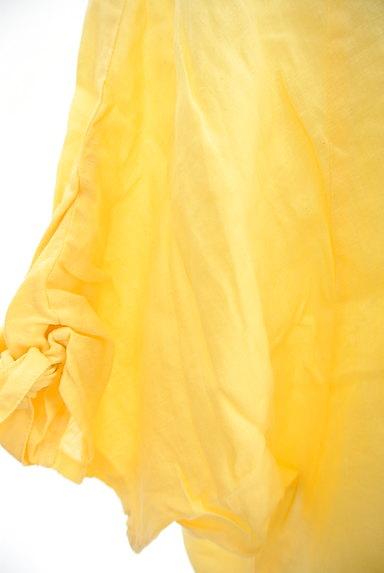 ROSSO(ロッソ)の古着「ドルマン五分袖リネンカットソー(カットソー・プルオーバー)」大画像5へ