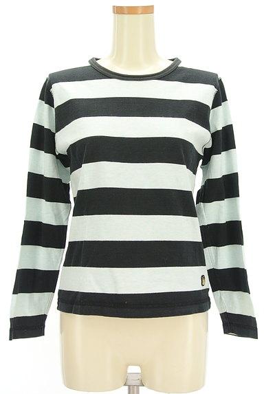 BEAMS Women's(ビームス ウーマン)の古着「ボーダーカットソー(Tシャツ)」大画像1へ