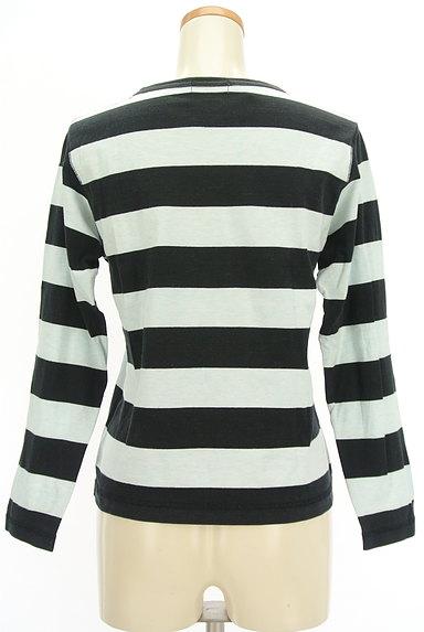 BEAMS Women's(ビームス ウーマン)の古着「ボーダーカットソー(Tシャツ)」大画像2へ