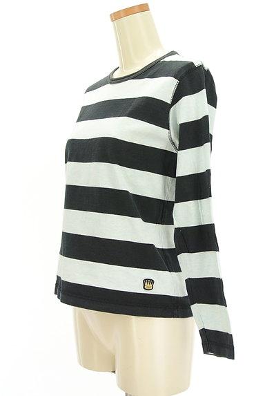 BEAMS Women's(ビームス ウーマン)の古着「ボーダーカットソー(Tシャツ)」大画像3へ
