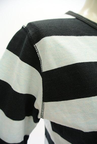 BEAMS Women's(ビームス ウーマン)の古着「ボーダーカットソー(Tシャツ)」大画像4へ