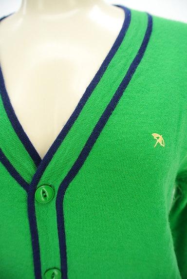 ARNOLD PALMER(アーノルドパーマー)の古着「ライン入りVネックカーディガン(カーディガン・ボレロ)」大画像4へ