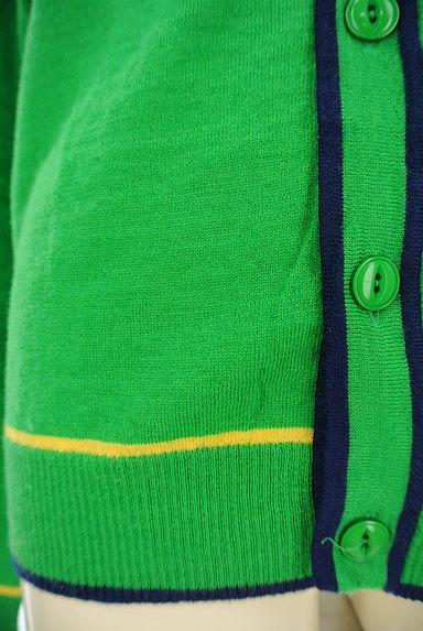 ARNOLD PALMER(アーノルドパーマー)の古着「ライン入りVネックカーディガン(カーディガン・ボレロ)」大画像5へ