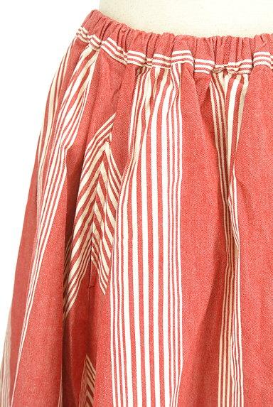 BEAMS Women's(ビームス ウーマン)の古着「ストライプ柄膝丈フレアスカート(スカート)」大画像4へ