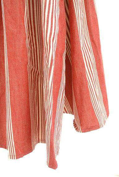 BEAMS Women's(ビームス ウーマン)の古着「ストライプ柄膝丈フレアスカート(スカート)」大画像5へ