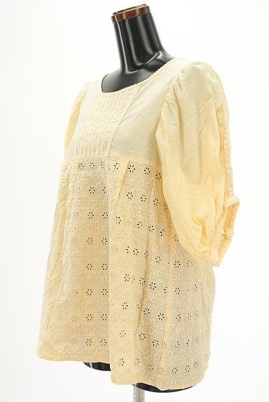 Par Avion(パラビオン)の古着「ボリューム七分袖刺繍カットソー(カットソー・プルオーバー)」大画像3へ