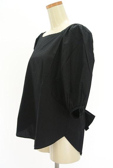 DOUBLE STANDARD CLOTHING(ダブルスタンダードクロージング)の古着「ボリューム袖バックリボンカットソー(カットソー・プルオーバー)」大画像3へ