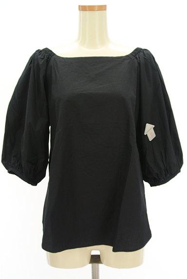 DOUBLE STANDARD CLOTHING(ダブルスタンダードクロージング)の古着「ボリューム袖バックリボンカットソー(カットソー・プルオーバー)」大画像4へ