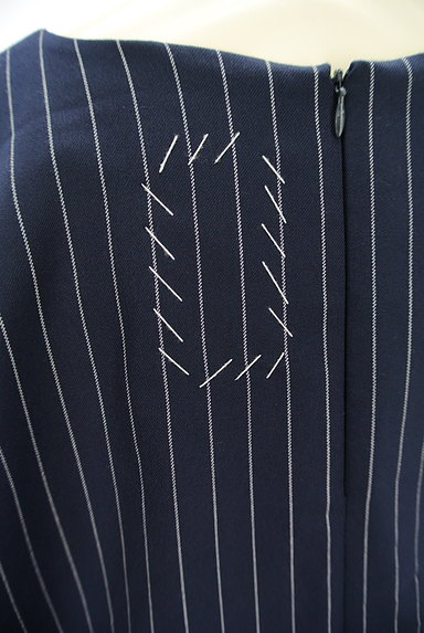 OKIRAKU(オキラク)の古着「ストライプ柄ロングカットソー(カットソー・プルオーバー)」大画像5へ