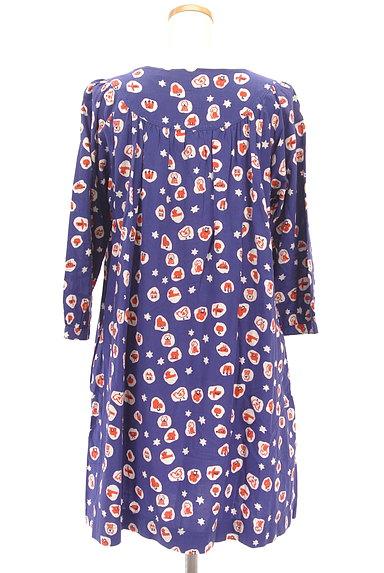 POU DOU DOU(プードゥドゥ)の古着「ポップ柄丸襟ワンピース(ワンピース・チュニック)」大画像2へ