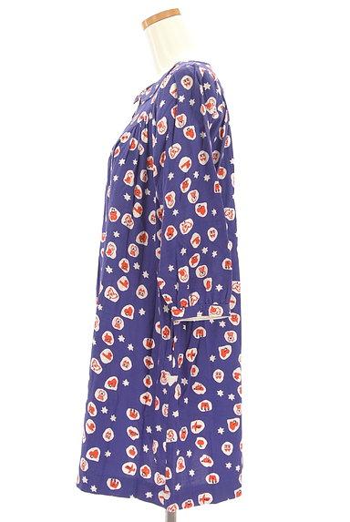 POU DOU DOU(プードゥドゥ)の古着「ポップ柄丸襟ワンピース(ワンピース・チュニック)」大画像3へ
