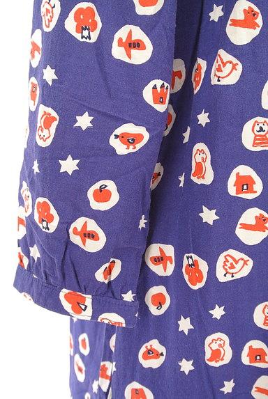 POU DOU DOU(プードゥドゥ)の古着「ポップ柄丸襟ワンピース(ワンピース・チュニック)」大画像5へ