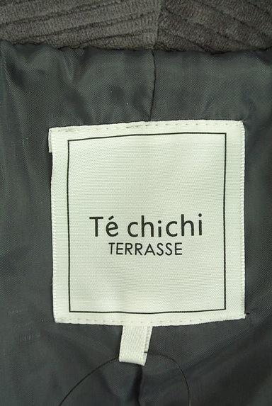 Te chichi(テチチ)の古着「コーデュロイロングコート(コート)」大画像6へ