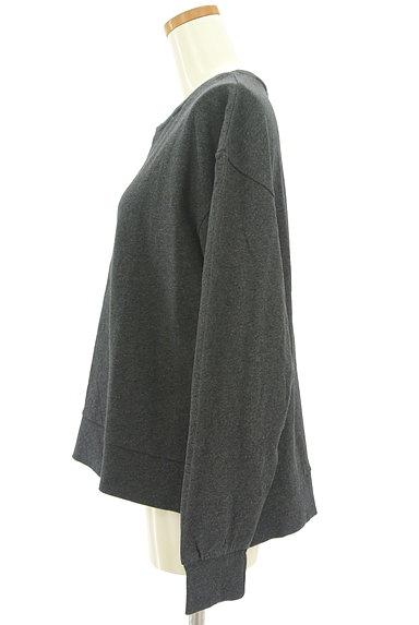 SM2(サマンサモスモス)の古着「レースネックラインプルオーバー(スウェット・パーカー)」大画像3へ