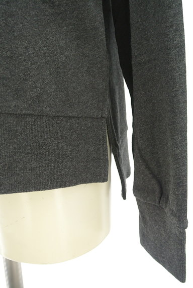 SM2(サマンサモスモス)の古着「レースネックラインプルオーバー(スウェット・パーカー)」大画像5へ