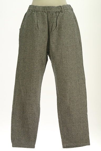 SM2(サマンサモスモス)の古着「起毛千鳥格子柄テーパードパンツ(パンツ)」大画像1へ