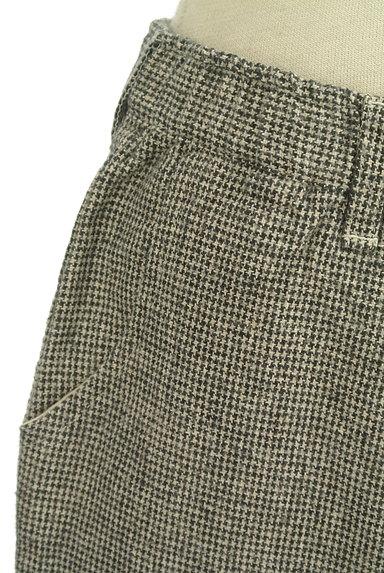 SM2(サマンサモスモス)の古着「起毛千鳥格子柄テーパードパンツ(パンツ)」大画像4へ