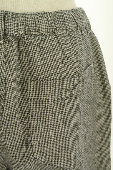 SM2(サマンサモスモス)の古着「起毛千鳥格子柄テーパードパンツ(パンツ)」大画像5へ