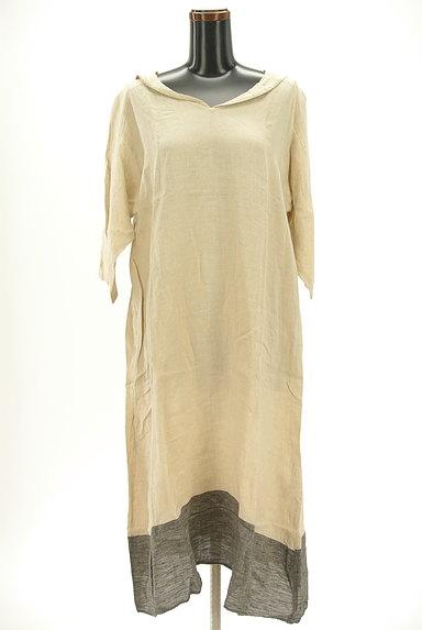 SM2(サマンサモスモス)の古着「セーラー襟ロングリネンワンピ(ワンピース・チュニック)」大画像1へ