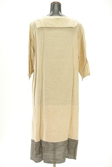 SM2(サマンサモスモス)の古着「セーラー襟ロングリネンワンピ(ワンピース・チュニック)」大画像2へ