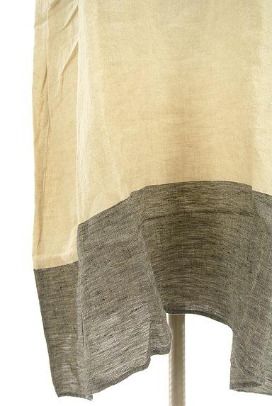 SM2(サマンサモスモス)の古着「セーラー襟ロングリネンワンピ(ワンピース・チュニック)」大画像5へ