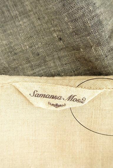 SM2(サマンサモスモス)の古着「セーラー襟ロングリネンワンピ(ワンピース・チュニック)」大画像6へ