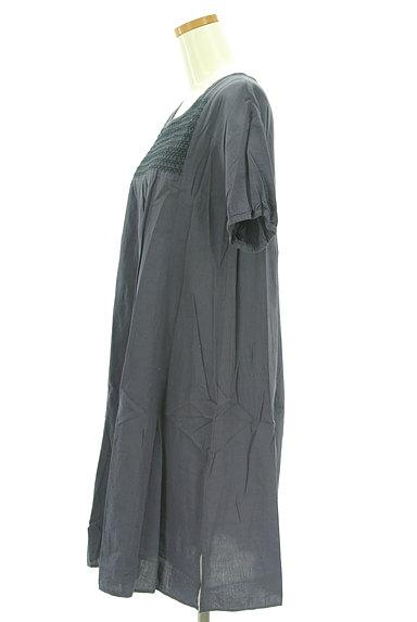 SM2(サマンサモスモス)の古着「刺繍シャーリングヨークワンピース(ワンピース・チュニック)」大画像3へ