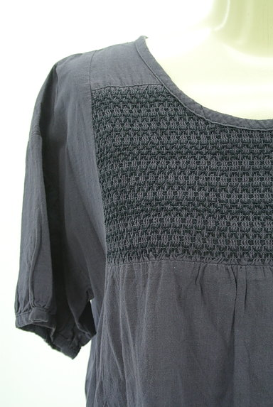SM2(サマンサモスモス)の古着「刺繍シャーリングヨークワンピース(ワンピース・チュニック)」大画像4へ