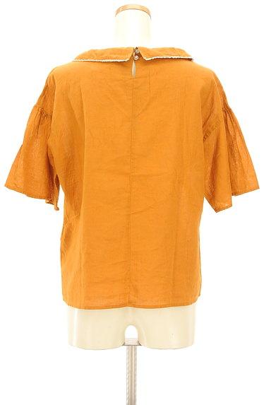 SM2(サマンサモスモス)の古着「フリルロールカラーカットソー(ブラウス)」大画像2へ