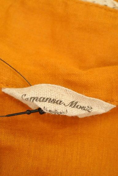 SM2(サマンサモスモス)の古着「フリルロールカラーカットソー(ブラウス)」大画像6へ
