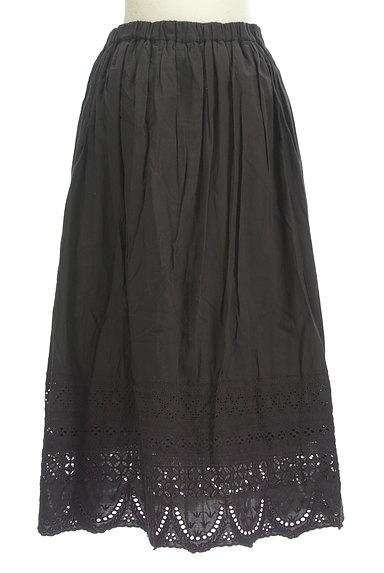 studio CLIP(スタディオクリップ)の古着「裾刺繍レースロングスカート(ロングスカート・マキシスカート)」大画像2へ