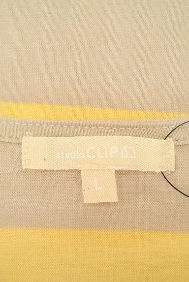 studio CLIP(スタディオクリップ)の古着「ボーダー五分袖カットソー(カットソー・プルオーバー)」大画像6へ