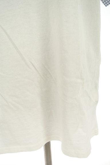 studio CLIP(スタディオクリップ)の古着「チェック柄袖切替カットソー(カットソー・プルオーバー)」大画像5へ