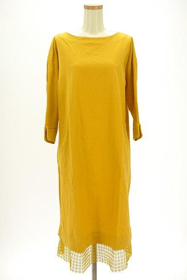 studio CLIP(スタディオクリップ)の古着「裾刺繍レースワンピース(ワンピース・チュニック)」大画像1へ