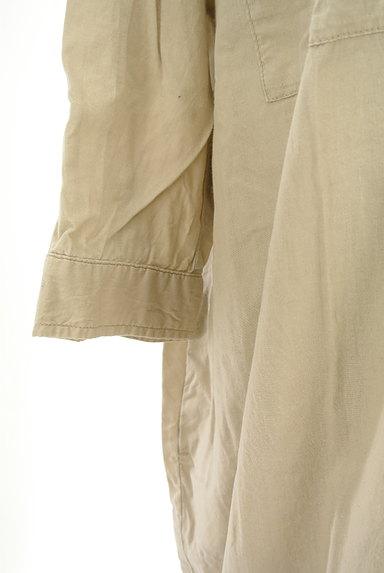 studio CLIP(スタディオクリップ)の古着「バンドカラー七分袖シャツワンピ(ワンピース・チュニック)」大画像4へ