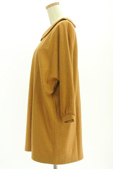 chambre de charme(シャンブルドゥシャーム)の古着「襟付きドルマンワンピース(カットソー・プルオーバー)」大画像3へ