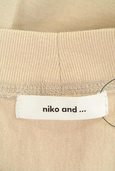 niko and...(ニコ アンド)の古着「スリットTシャツワンピース(ワンピース・チュニック)」大画像6へ