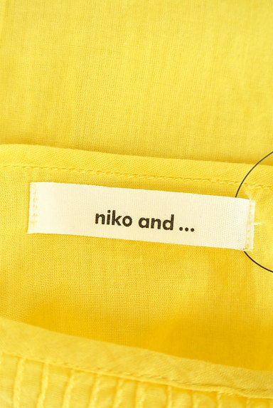 niko and...(ニコ アンド)の古着「ロールアップ袖カットソー(カットソー・プルオーバー)」大画像6へ