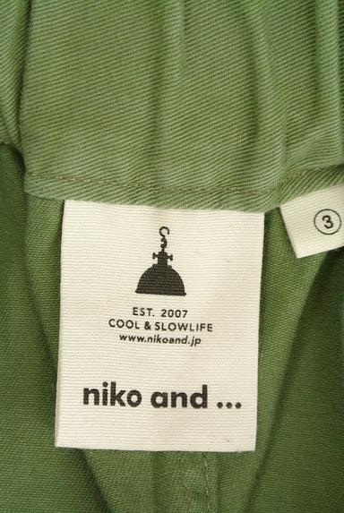 niko and...(ニコ アンド)の古着「ワイドタックパンツ(パンツ)」大画像6へ