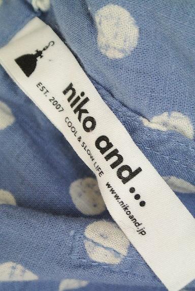 niko and...(ニコ アンド)の古着「ドット柄ワイドハーフパンツ(ショートパンツ・ハーフパンツ)」大画像6へ