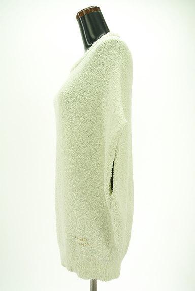 gelato pique(ジェラートピケ)の古着「ふわもこフレンチスリーブロングカットソー(カットソー・プルオーバー)」大画像3へ