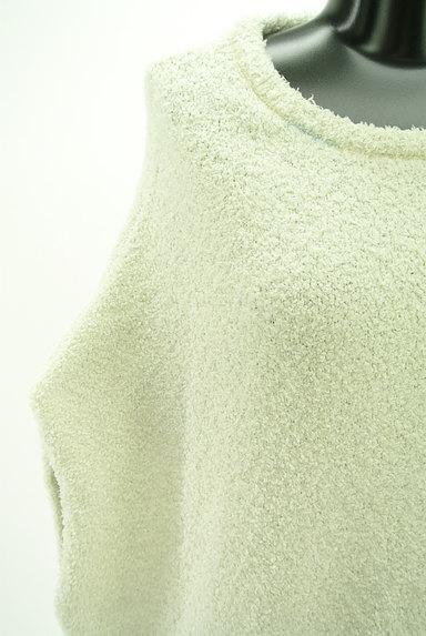 gelato pique(ジェラートピケ)の古着「ふわもこフレンチスリーブロングカットソー(カットソー・プルオーバー)」大画像4へ