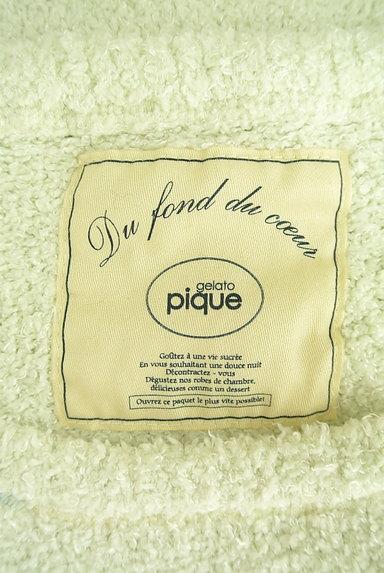 gelato pique(ジェラートピケ)の古着「ふわもこフレンチスリーブロングカットソー(カットソー・プルオーバー)」大画像6へ