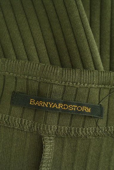 BARNYARDSTORM(バンヤードストーム)の古着「タイトロングリブワンピース(キャミワンピース)」大画像6へ