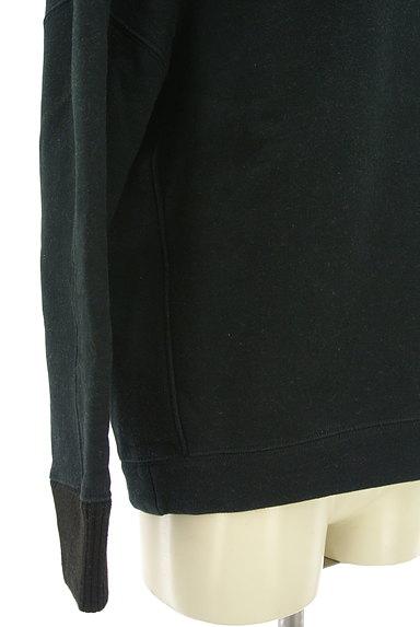 BARNYARDSTORM(バンヤードストーム)の古着「裏起毛Vネックスウェットトップス(スウェット・パーカー)」大画像5へ