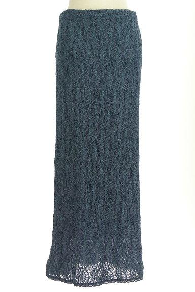 ITALIYA(伊太利屋)の古着「ラメニットロングスカート(ロングスカート・マキシスカート)」大画像1へ
