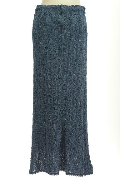 ITALIYA(伊太利屋)の古着「ラメニットロングスカート(ロングスカート・マキシスカート)」大画像2へ